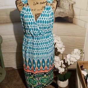 Lemmie for Nina Leonard boho dress